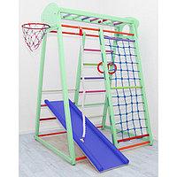 Детский спортивный комплекс Basket, цвет фисташка