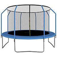 Батут ONLITOP, d=366 см, с сеткой высотой 173 см, цвет синий
