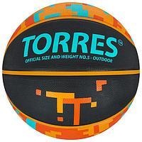 Мяч баскетбольный TORRES TT, B02125, размер 5