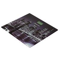 Весы напольные HOMESTAR HS-6001C, электронные, до 180 кг, 1хCR2032, стекло, красные Город