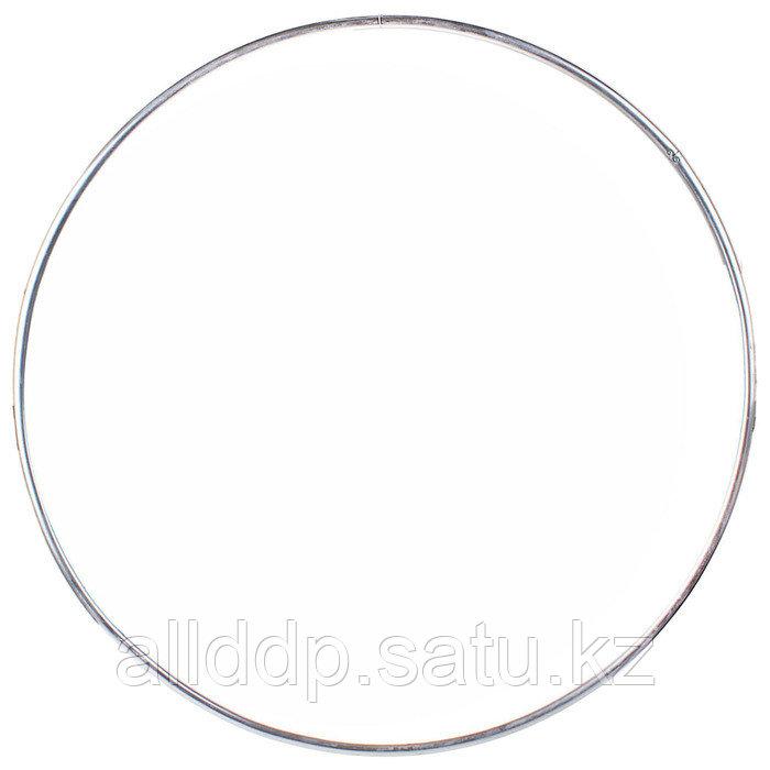 Обруч гимнастический, алюминиевый, d=60 см