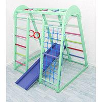 Детский спортивный комплекс Super Champion, 1200 × 1450 × 1500 мм, цвет фисташка