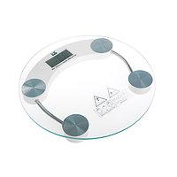 Весы напольные Irit IR-7250, электронные, до 150 кг, стекло, 1хCR2032, белые