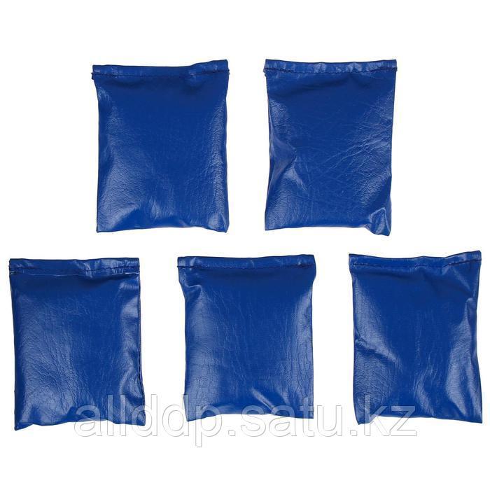 Мешочки для метания, набор 5 шт. по 200 г, цвета микс - фото 1