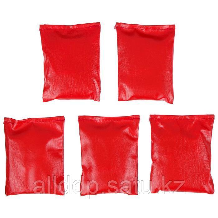 Мешочки для метания, набор 5 шт. по 200 г, цвета микс - фото 2