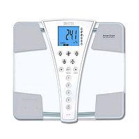 Весы напольные Tanita BC-587, диагностические, до 200 кг, 4xAA, стекло, белые