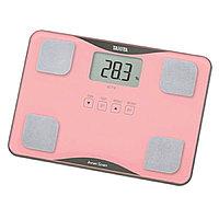 Весы напольные Tanita BC-718, диагностические, до 150 кг, 4xAAА, стекло, сенсор, розовые