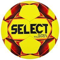 Мяч футзальный SELECT Futsal Talento 11, размер Jr, 32 панели, ТПУ, машинная сшивка, цвет жёлтый/кра ...