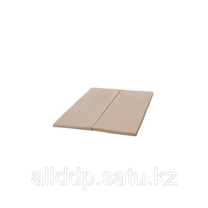 Мат PERFETTO SPORT, 100 х 123 х 4 см, складной, для PS 210, цвет бежевый