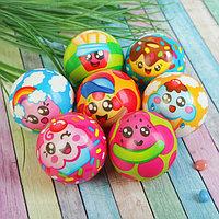 Мяч «Вкусняшки», мягкий, 6,3 см, виды МИКС