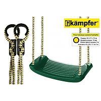 Пластиковые навесные качели Kampfer S04-101, цвет зелёный
