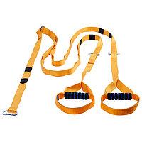 Эспандер-многофункциональный тренажёр «Петли», регулируемый карабином, 36-14