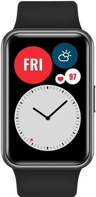 Смарт часы HUAWEI WATCH Fit графитовый черный (TIA-B09)