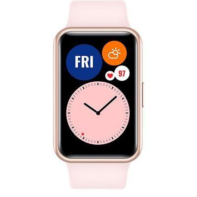 Смарт часы HUAWEI WATCH Fit розовый (TIA-B09)
