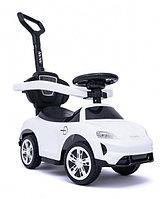 Детский автомобиль-каталка с ручкой Tomix Racer
