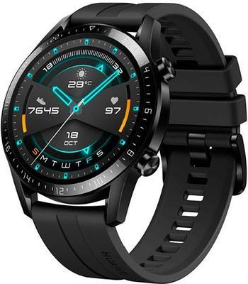 Смарт часы HUAWEI WATCH GT 2 (Matte Black) (LTN-B19)