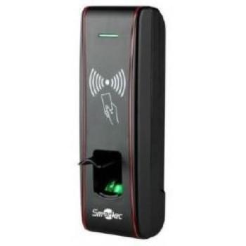 Погодозащищенный считыватель отпечатков пальцев и карт доступа формата EM ST-FR030EMW марки Smartec