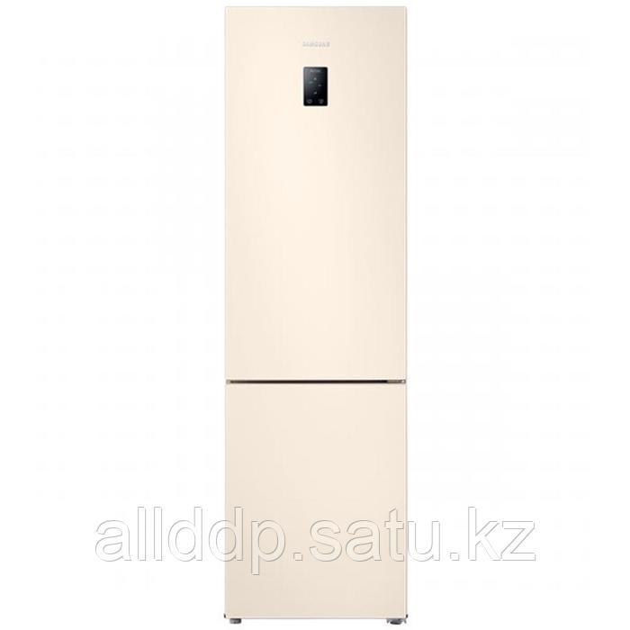 Холодильник Samsung RB37A5290EL/WT, двухкамерный, класс А, 387 л, Full No frost, бежевый