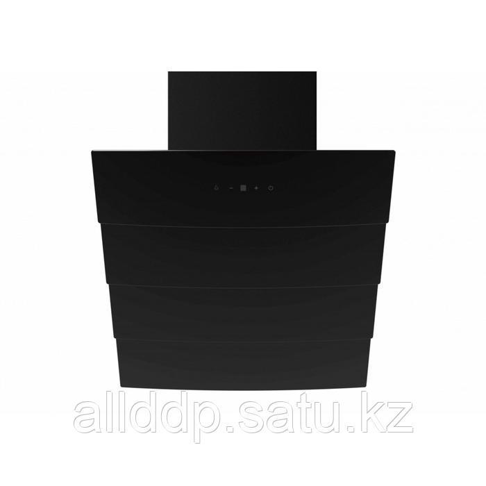 Вытяжка Midea MH60AN795GB, купольная, 1150 м3/ч, 60 см, сенсорное управление, чёрная