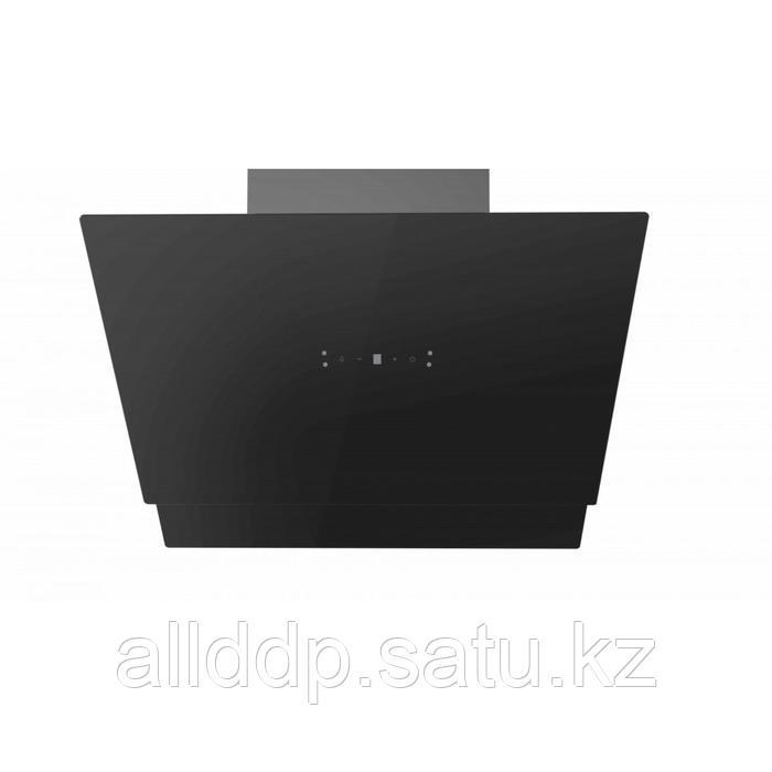 Вытяжка Midea MH60AN895GB, каминная, 1150 м3/ч, 4 скорости, 60 см, чёрная
