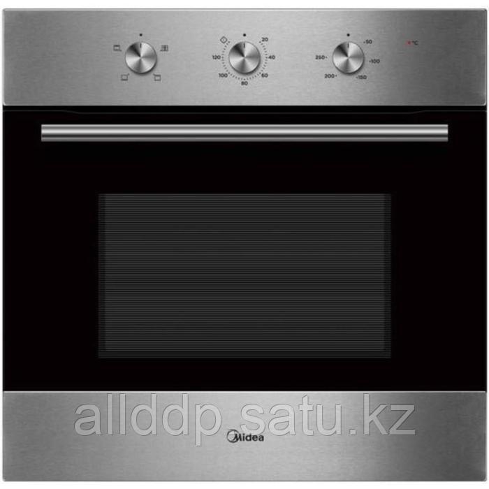 Духовой шкаф Midea MO23003X, электрический, 71 л, класс А, серебристый