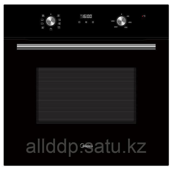 Духовой шкаф Midea MO68101CGB, электрический, 8 режимов, конвекция, гриль, чёрный