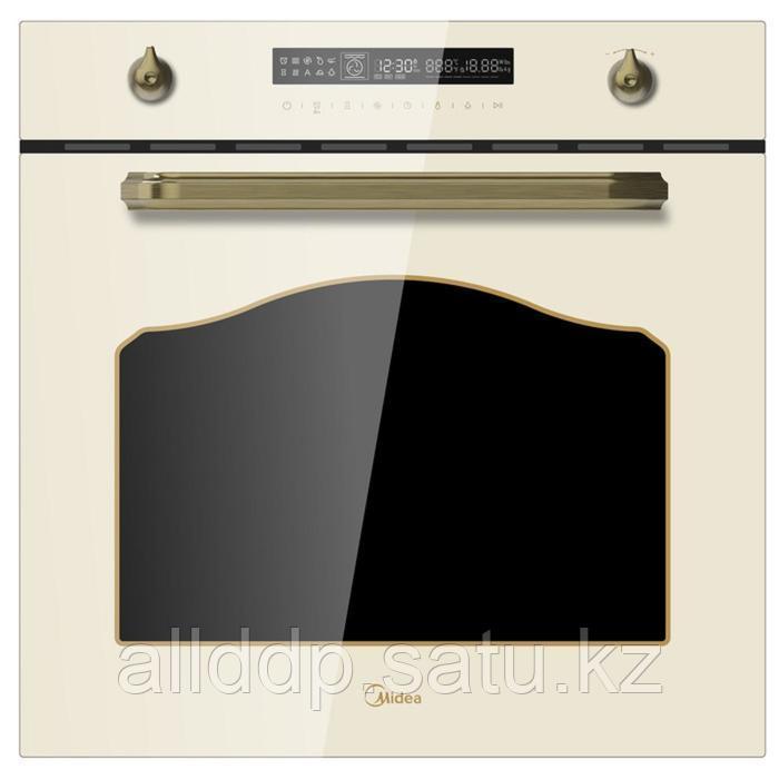 Духовой шкаф Midea MO78100RGI-B, электрический, 72 л, класс А, конвекция, сл. кость