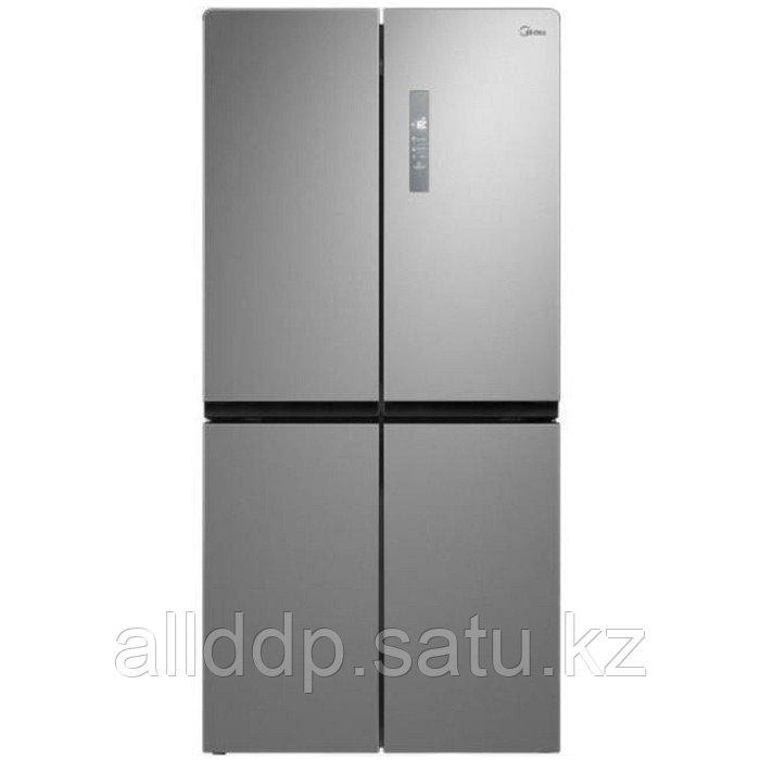 Холодильник Midea MRC518SFNGX, Side-by-Side, класс А+, 544 л, No Frost, серебристый