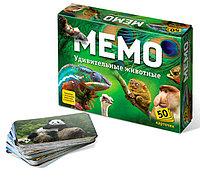 Настольная игра «Мемо. Удивительные животные»