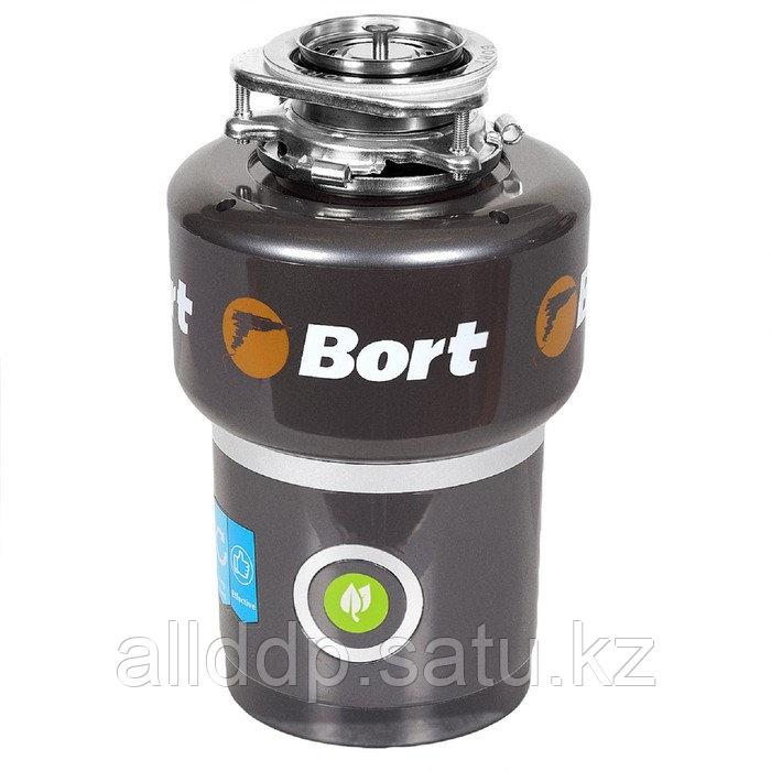 Измельчитель пищевых отходов Bort TITAN MAX Power FullControl, 780 Вт, 3 ступени, чёрный
