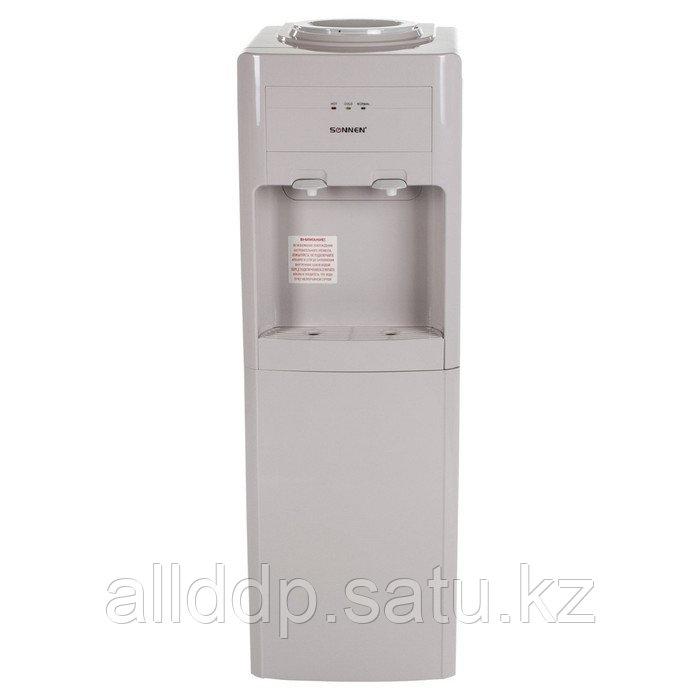 Кулер для воды SONNEN FSC-02, нагрев и охлаждение, 420/95 Вт, бежевый