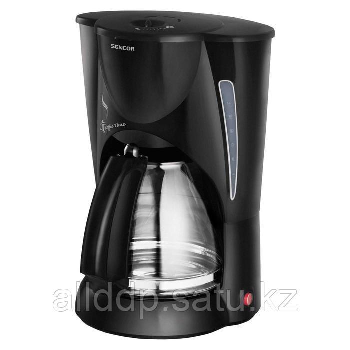 Кофеварка Sencor SCE 5000BK, капельная, 900 Вт, 2.1 л, чёрная