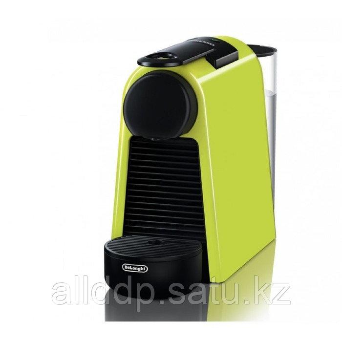 Кофемашина DeLonghi EN 85 L, капсульная, 1260 Вт, 0.8 л, чёрно-зелёная