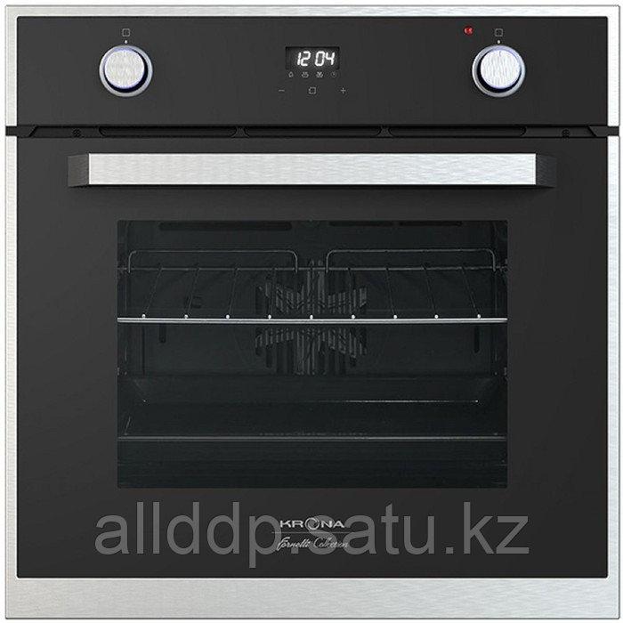 Духовой шкаф KRONA ADRIANO 60 BL, электрический, 57 л, класс А, 60 см, чёрный