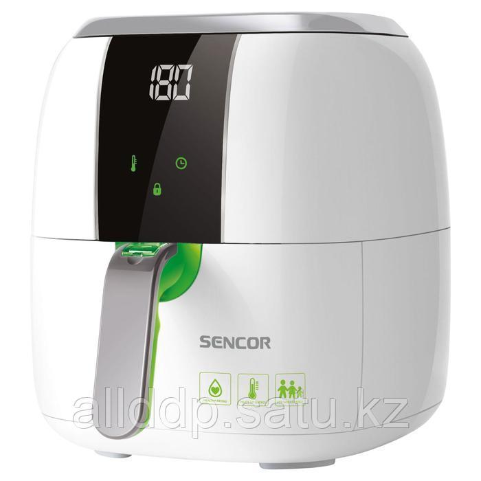 Фритюрница Sencor SFR 5320WH, 1400 Вт, 3 л, до 200°C, белая