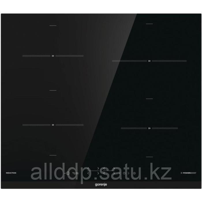 Варочная поверхность Gorenje IT641BCSC, индукционная, 4 конфорки, сенсор, чёрная