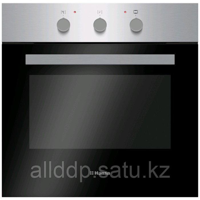 Духовой шкаф Hansa BOEI64111, электрический, 67 л, класс А, чёрно-серебристый