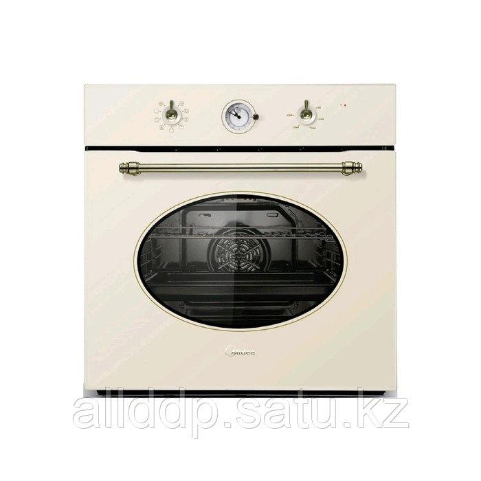 Духовой шкаф Midea MO 5810V RGI-B, электрический, 70 л, класс А, гриль, бежевый