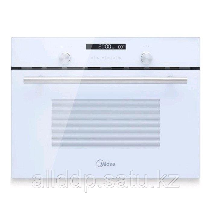 Духовой шкаф Midea TF944EG9-WH, электрический, 44 л, класс В, гриль, белый