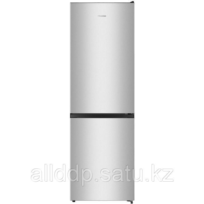 Холодильник Hisense RB390N4AD1, двухкамерный, класс A+, 300 л, серебристый