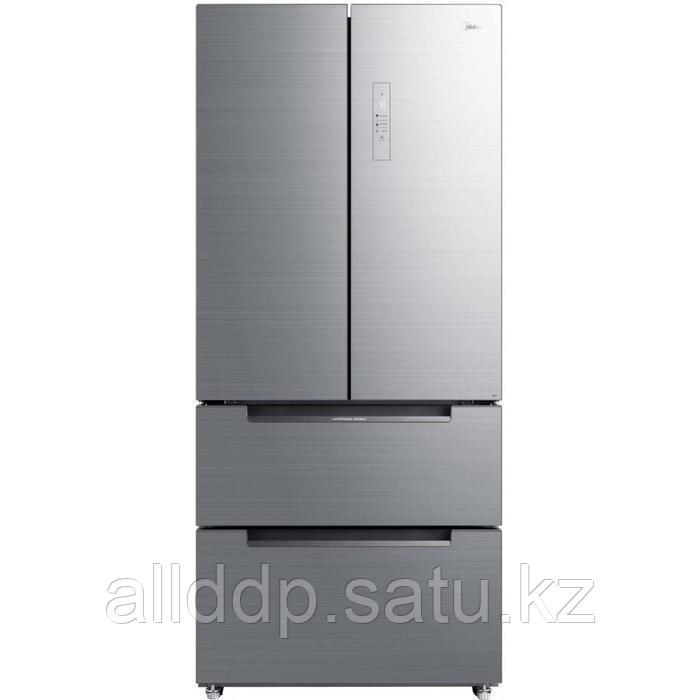 Холодильник Midea MRF519SFNGX, Side-by-side, класс A+, 336 л, серый