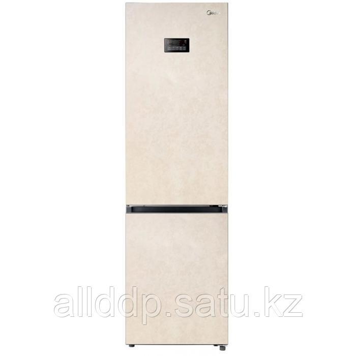 Холодильник Midea MRB520SFNBE5, двухкамерный, класс A++, 360 л, бежевый