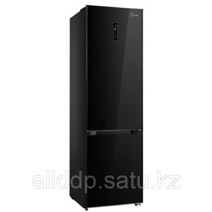 Холодильник Midea MRB520SFNGB1, двухкамерный, класс A++, 350 л, чёрный
