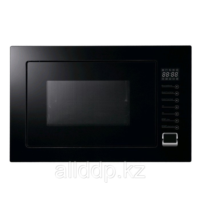 Встраиваемая микроволновая печь Midea TG925B8D-BL, 900 Вт, 25 л, гриль, чёрная