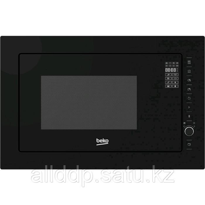 Встраиваемая микроволновая печь Beko MGB 25333 BG, 900 Вт, 25 л, таймер, чёрная
