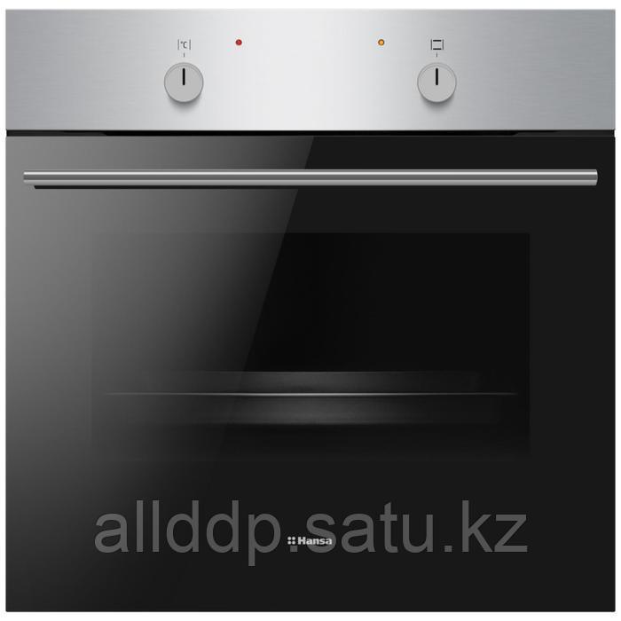 Духовой шкаф Hansa BOEI68004, электрический, 2900 Вт, 65 л, класс А, нерж. сталь-черный