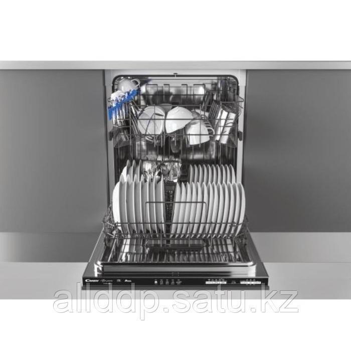 Посудомоечная машина Candy CDIN 1L380PB-07, встраиваемая, класс А+ 13 комплектов, 6 программ