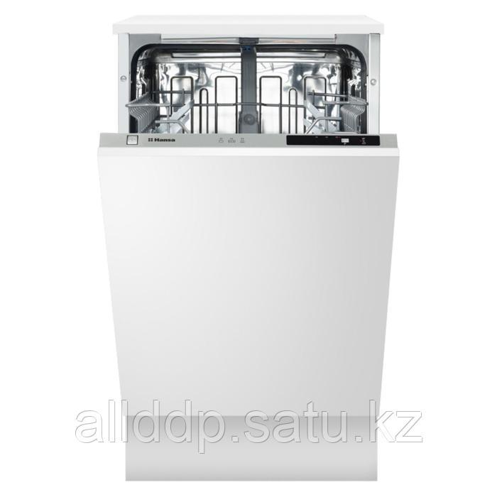 Посудомоечная машина Hansa ZIV413H, встраиваемая, класс А++, 10 комплектов, 44.8 см