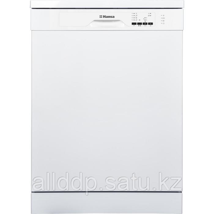 Посудомоечная машина Hansa ZWV614WH, класс А++, 12 комплектов, 4 программы, белая