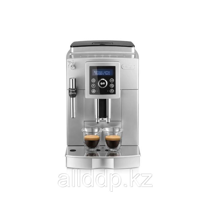 Кофемашина DeLonghi ECAM 23 420 B, автоматическая, 1450 Вт, 150 г, чёрная